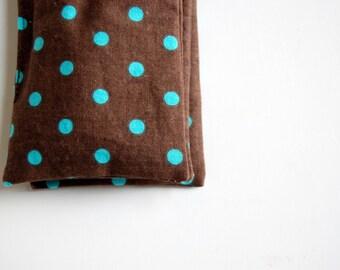 Polka Dot Trio of Organic Lavender Sachets / organic fragrance sachet / drawer sachet / dryer sachet / natural sleep aid / aromatherapy