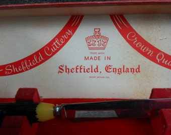 Carving Set Sheffield Cutlery - Made in England