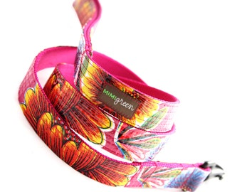 Oilcloth Dog Leash - 4', 5' or 6' --  10 colors to choose from