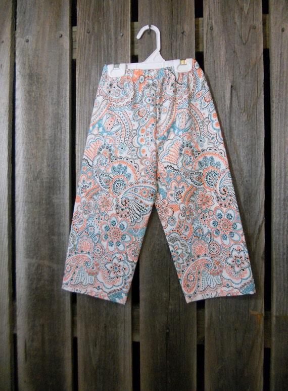 Paisley Toddler Pants