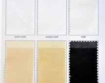 """Color Card for Batiste Fabric by the yard.. 118"""" wide 100% polyester.. curtains, clothing, crafts, lining"""