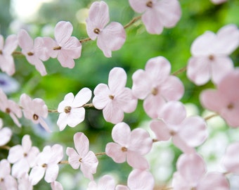 Flower Garland, Floral wedding, Spring wedding decor, Floral garland, Blush Pink, HYDRANGEA, Dusty Pink, Wedding garland, Pale pink decor