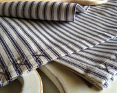Dish Towels, Tea Towels, Towel Set, Kitchen, Bath, Hand Towels, Cotton, Ticking, Home Stead, Cottage Style