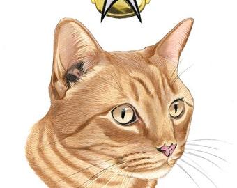 Spot The Cat Limited Edition Art Print by Ryan Berkley