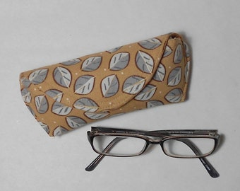 Eyeglass Case or Sunglass Case - Falling Leaves