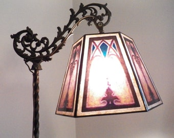 Antique Vintage Lamp Shade And Cylinder Replacement By Nymarts