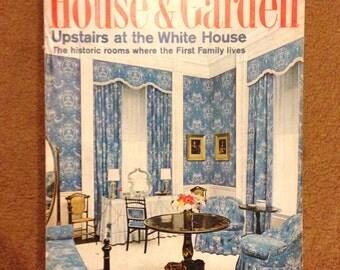 House & Garden Magazine October 1966 White House Modernist Harriet Burket Conde Nast Dansk