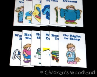 CHORE CHART SET - Additional Chores for 3-5 Year Olds