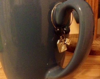 Tea Mug Charms - Set of 4