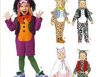 Sewing Pattern Simplicity 1766 Toddlers' Costumes Uncut complete