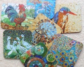 ANY 6 COASTERS **Special Offer** Your Choice of any 6 Mosaic Coasters - Mosaic Art - Lots more to choose from