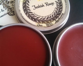 Historically Inspired: 1740-1810 Solid Turkish Rouge - lip and cheek tint