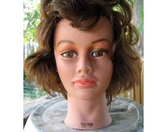 Craft Fair Display Head - Gabby