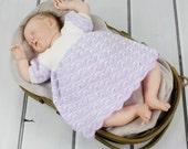 Crochet Pattern for a Baby Dress 5 Sizes 0-18months DIGITAL DOWNLOAD 107