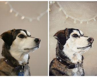 CUSTOM Pet Painting - 5x7 Pet Portrait