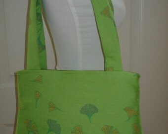 SALE Woven Wrap Conversion Purse/Shoulder Bag Tote-  Didymos Ginkgo