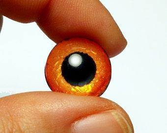 Doll irises 16mm Dichro color OrangeCrush