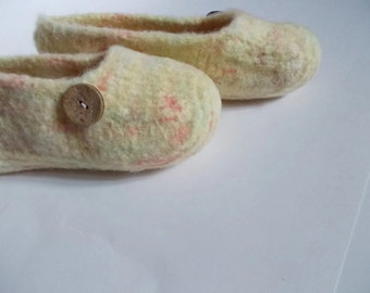 Felted, Boiled,Wool Shoes, Slippers, Women's US size 9