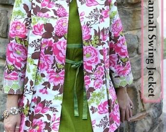 Savannah Jacket Sewing Pattern