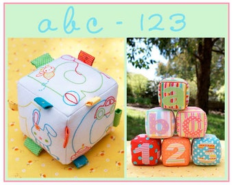 abc 123 Sewing Pattern