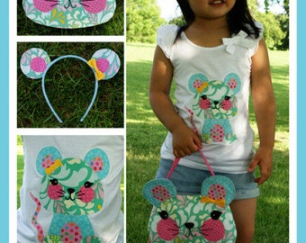 SALE Little Miss Mouse Sewing Pattern