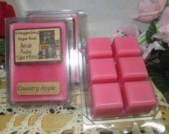 Country Apple Clamshell Wax Tart Melts