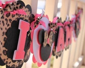 "Minnie Mouse ""I AM 1"" Highchair Banner by EKC"