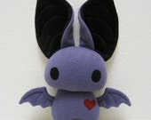 Dexter the Bat in Purple and Black