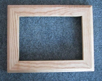 5x7 Curly Red Oak  Picture Frame