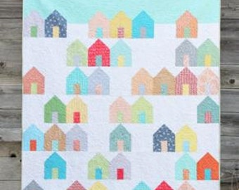 SALE Suburbs Quilt paper Pattern by Cluck Cluck Sew