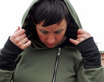 Hoodie women ,womens sweatshirt, hoodies for women, hoody sweater,sweatshirt handmade, organic cotton