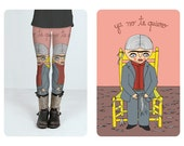 Leggings - Frida Kahlo - I dont love you anymore