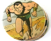Namor the Sub-Mariner Coasters // Recycled Vintage Comic Book