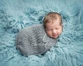 Alpaca Swaddle Sack - swaddle pod, newborn photo prop, newborn swaddler, sleep sack