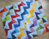 TILTED Modern Quilt Pattern from Quilts by Elena