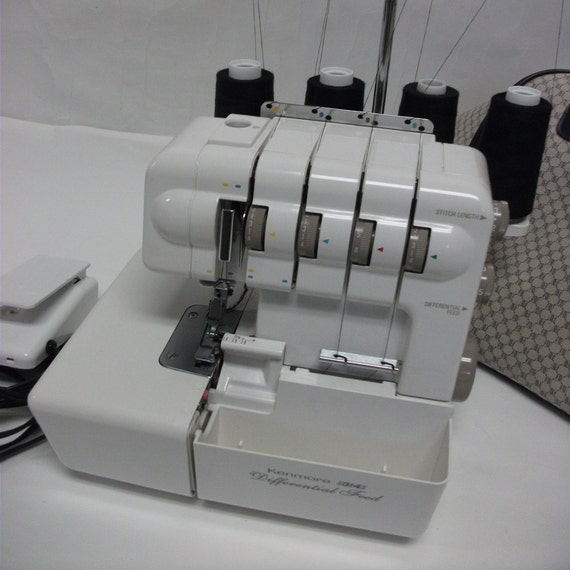 Kenmore 3 4 Spool Overlock Sewing Machine Differential Feed