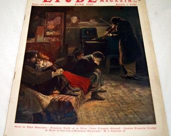 Etude 1927 Music Magazine