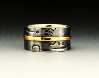 Gold and Silver Band