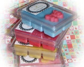 Scented Soy Bean Candle Melts / Tarts Break Apart Bar Clamshell Chocolate Selection