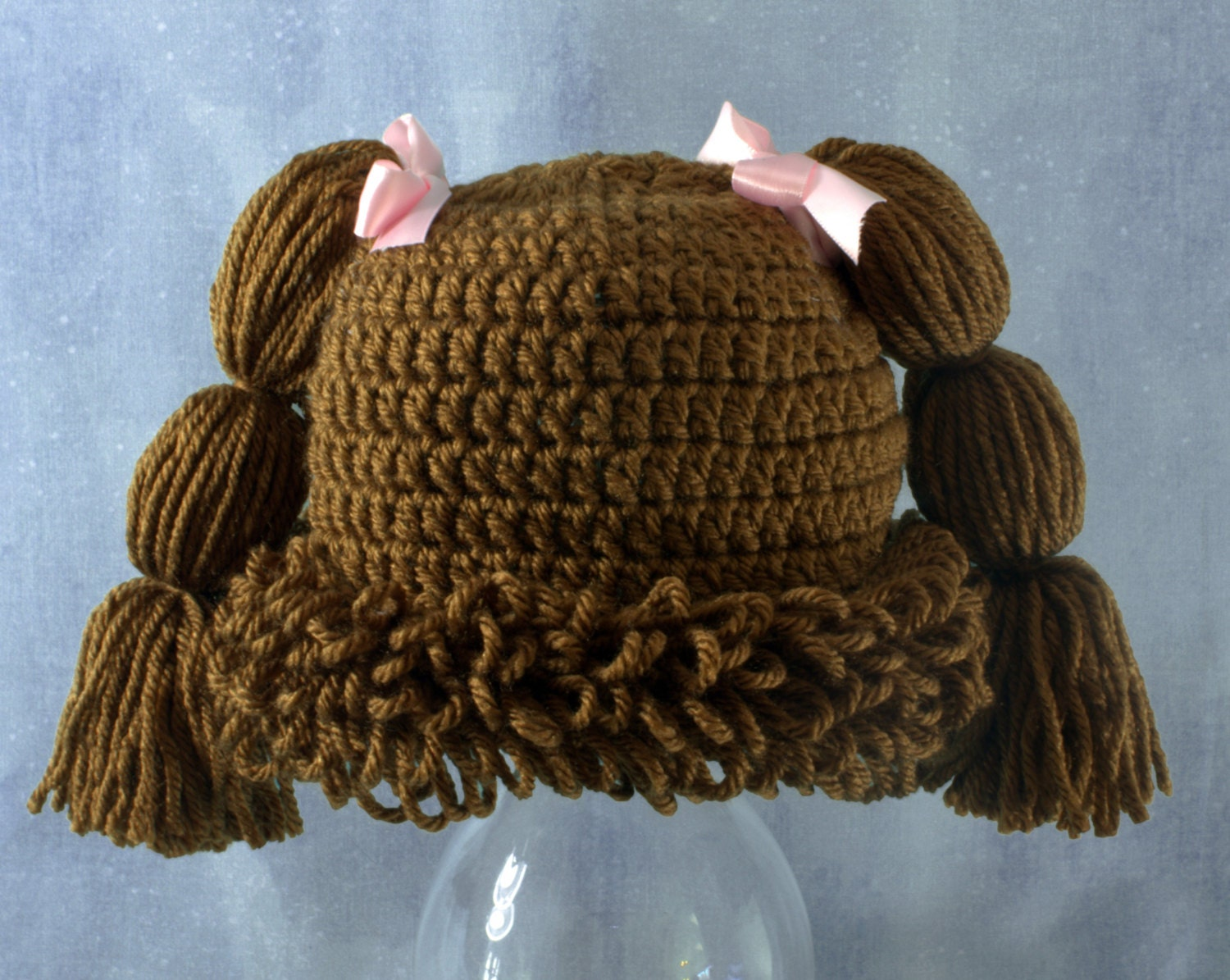 Crochet Pattern For Cabbage Patch Baby Hat : Cabbage Patch Kid Halloween Hat Crochet