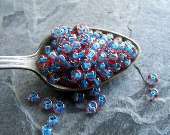 Vintage Czech Glass Seed Bead-Size 6/0-1 Scoop