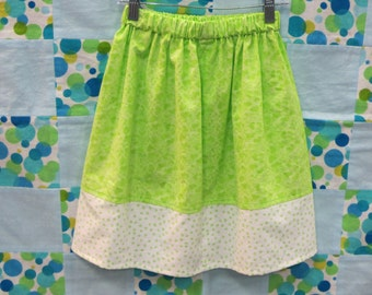 Cute Girls Skirts - Girls Clothing - Hearts and Polka Dots - 3/4T