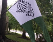NEW Silk Screened Game Of Thrones Banner Flag custom listing Size LARGE