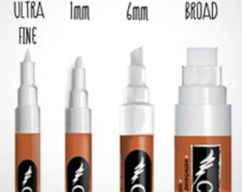 Chalk Ink Wet-Wipe Markers