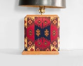 30% SALE hand made VINTAGE saddle blanket table lamp
