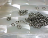 4 by 5mm OVAL 20g, Jump Rings OPEN Antiqued Silver Nickel free Jump Rings 30pcs Findings Jewelry Supplies, Jewellery Supplies