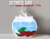 Customized Printable Fishbowl Cards