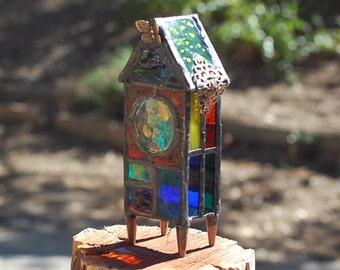 Colorful Stained Glass House