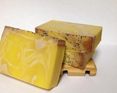 Lemonilla Handcrafted Vegan Friendly Cold Processed Soap Scented with Lemon and Vanilla