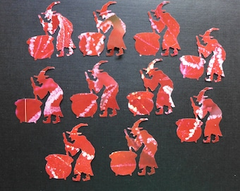 Blood Red Witches Die Cuts